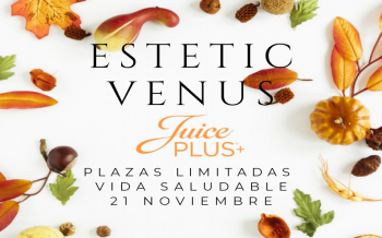 Juice PLUS+ Plazas Limitadas, Vida Saludable, 21 de Noviembre